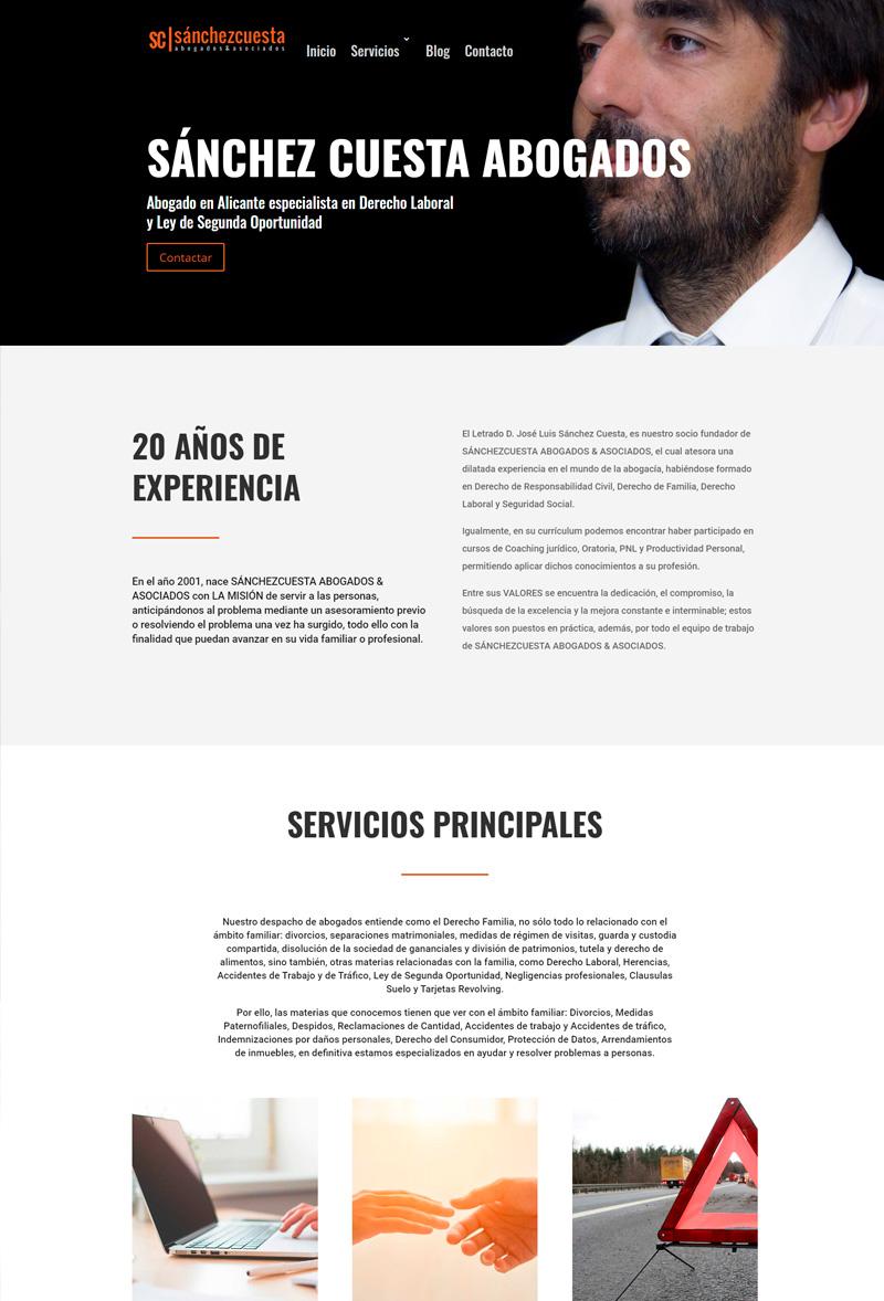 web abogado